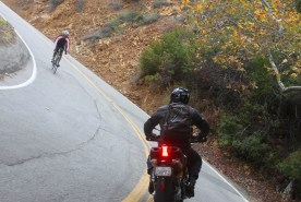 2 wheels are fun in the Canyons, inc an engine and it's SuperFun!!