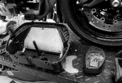 Modifying the airfilter