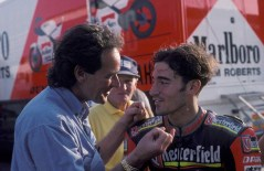 Max with Barry & Franco Sheene 1994