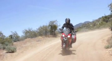 Amazing on the road, the Multistrada can handle simple off-road