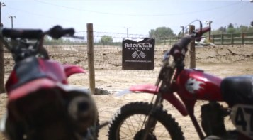 Hell on Wheels took over one of the MotoX tracks for the day