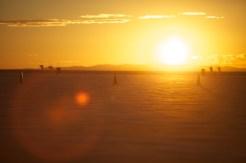 Bonneville sun rises are amazing