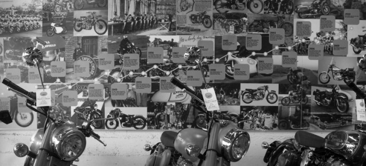 Monroe Motorcycles in San Fran have plenty of cool machines