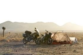 California Escape - 2 motorbikes, 2 friends - Night 1 - Death Valley