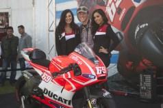 All smiles at Ducati
