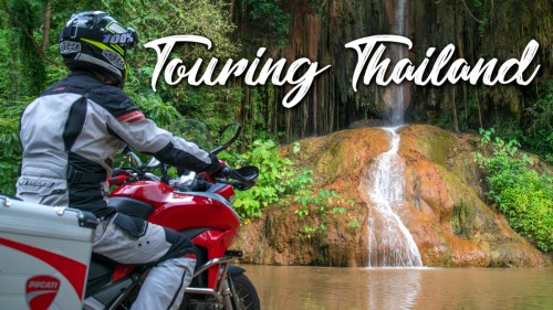 Touring Thailand / Ducati Multistrada 950
