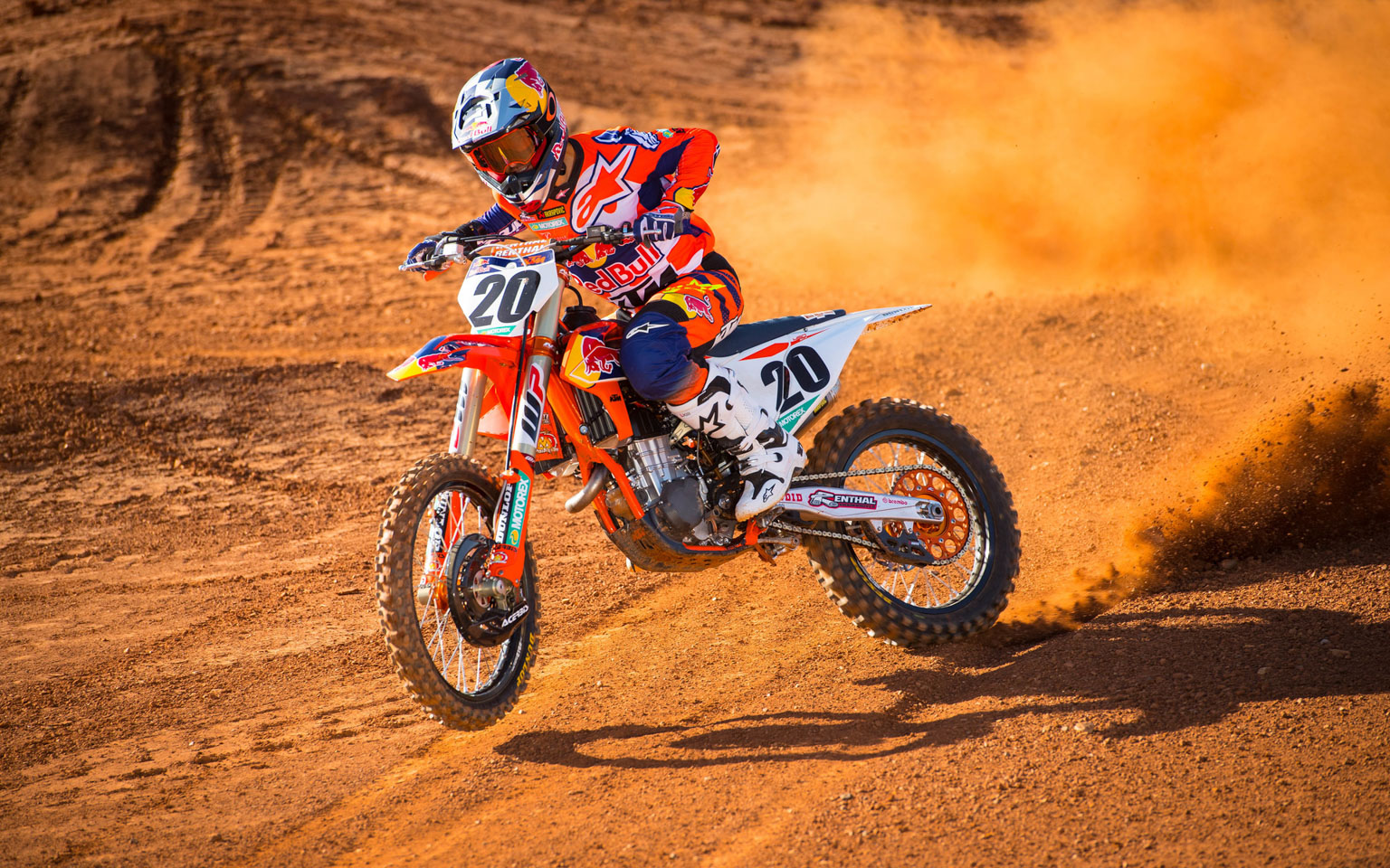 Ktm Duo Are Ready For Action Motohead