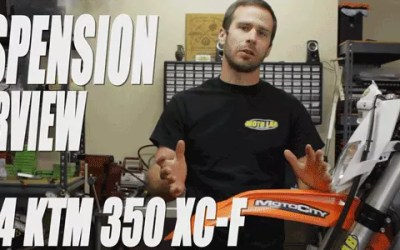 2014 KTM 350XC-F Suspension Review