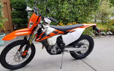 Lowering a 2017/2018 KTM 250 EXC F 3 inches