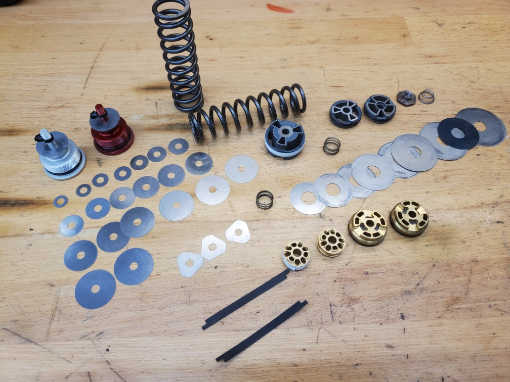 Shims and other tuning parts