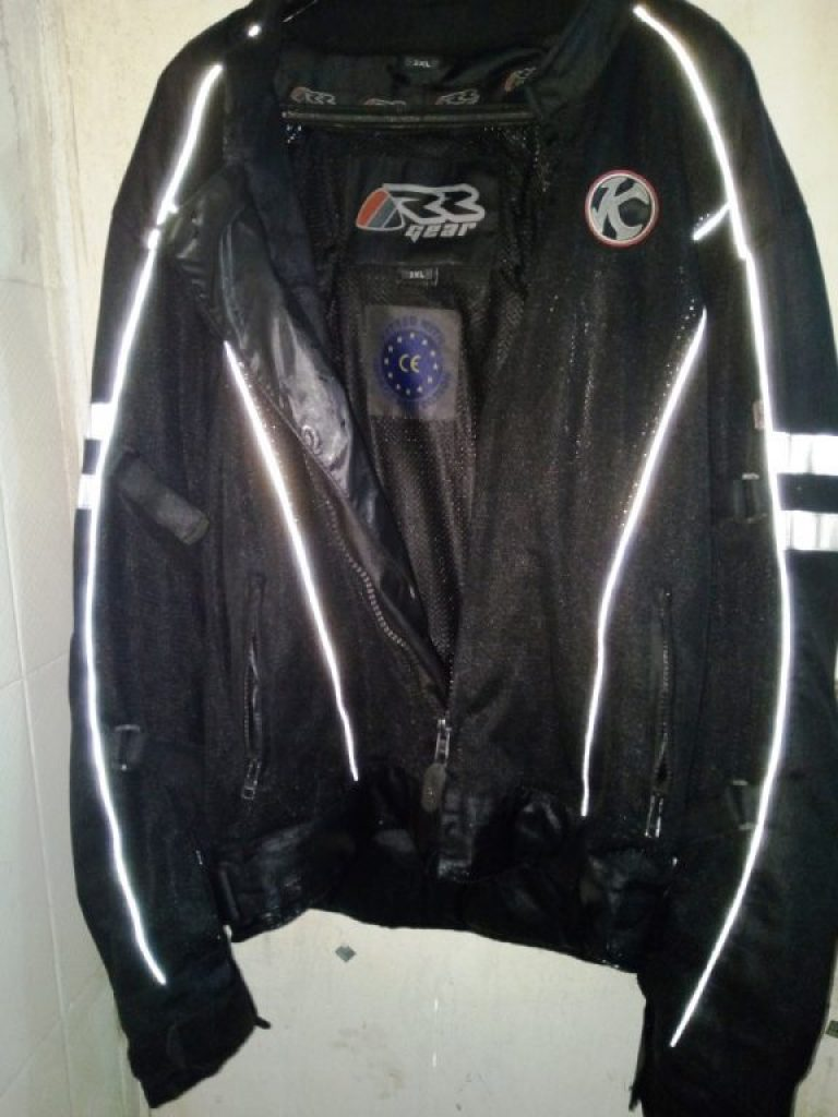 RR Gear Raptor riding jacket review