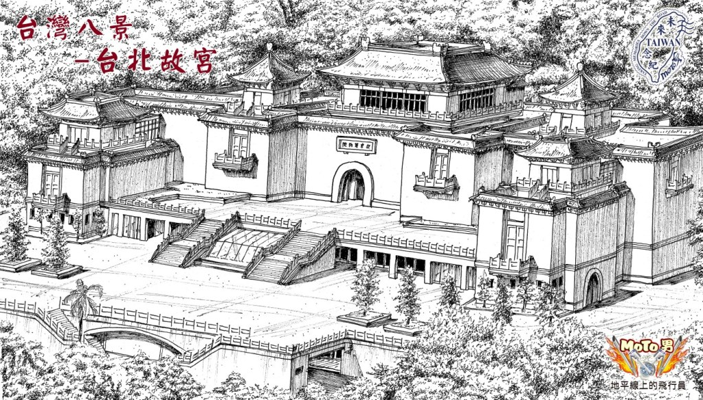 Palace Museum-free hand drawing