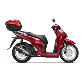 Honda SH125i-red-scooter