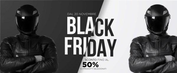 abbigliamento moto - black Friday