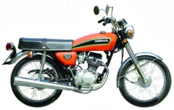 A CG 125 de 1976 será uma das motos históricas expostas na inauguração do Fan Club