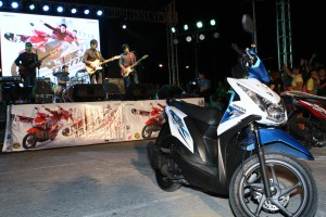 "The ""Scooter for all"" , Honda BeAT Fi, invades Laguna"