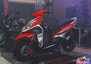 Kymco presents Hale as brand ambassadors, launches three new products