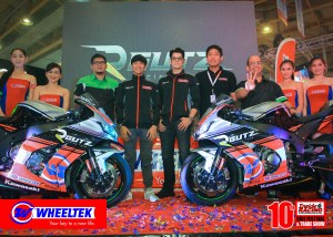 RGutz – Wheeltek Racing Team Powered by Kawasaki Unveiled at the 10th Inside Racing Bike Festival and Trade Show