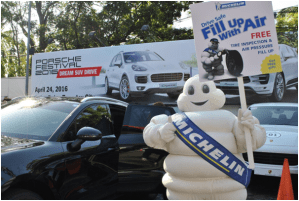 Michelin Boosts Porsche Dream SUV Drive Event with Fill Up With Air Safety Campaign