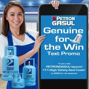 """Petron Gasul """"Genuine for the Win"""" promo"""