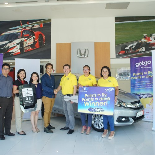 Getgo Brand-new Honda Mobilio Promo Winners