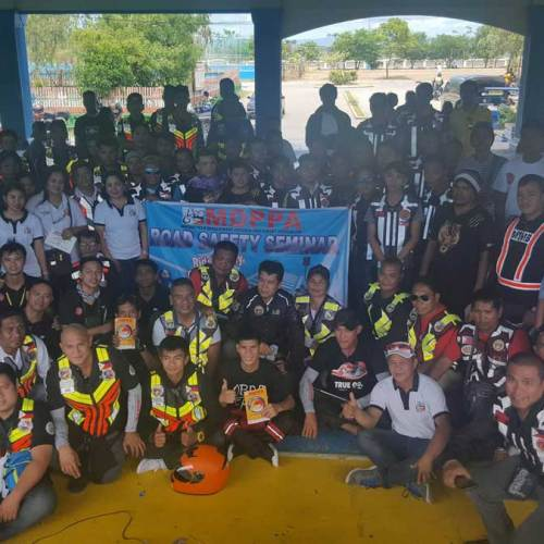 MDPPA holds road safety seminar among 150 riders in Muntinlupa