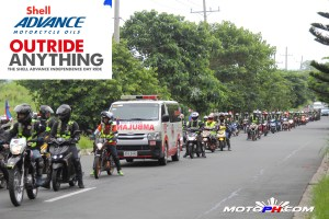 Shell Independence Day Ride – Shell Advance Ultra and AX7's Launch
