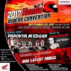 Honda Philippines 2017 Riders Convention