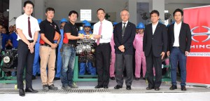 Hino supports Phil – Nippon Technical College with product donations