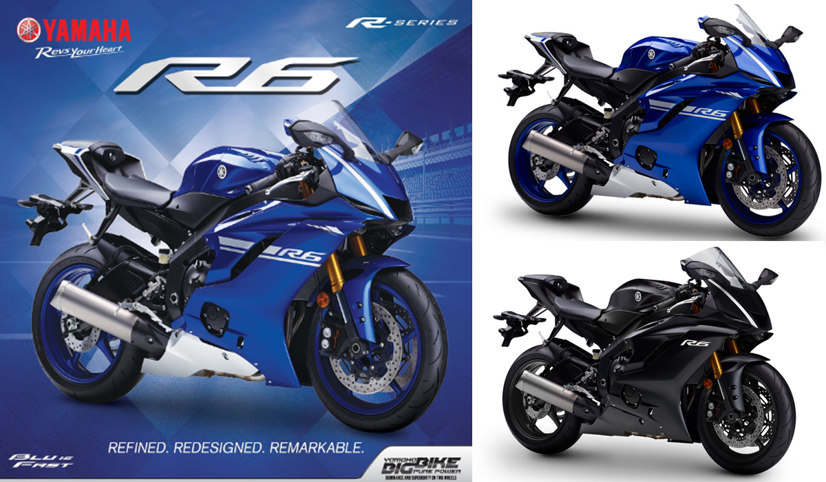 The All New Yamaha YZF-R6 - Specifications, Availability and Price