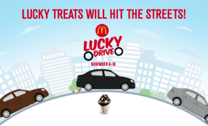 Lucky Week with McDonald's Lucky Drive!