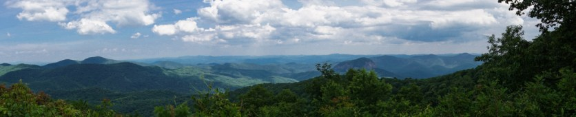 Blue Ridge Parkway offers great views...