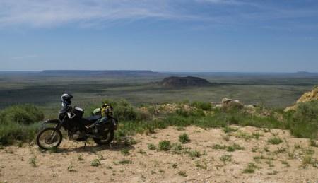 Vast prairie landscapes