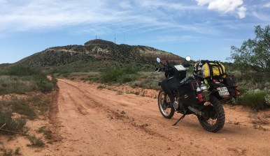 On my way to the top of Mt. Tucumcari