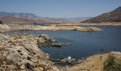 Lake Isabella seemed to lack some water