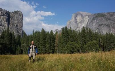 Half Dome and El Capitan huge granite rocks!