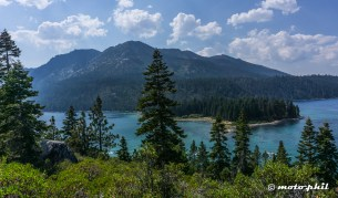 Emerald Bay on Lake Tahoe offers crystal clear waters