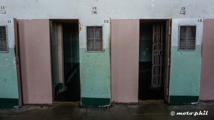 "The ""holes"" in cell block D, the isolation block"