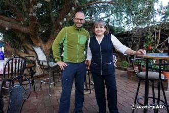 My wonderful host Carmen in Vincente Guerrero