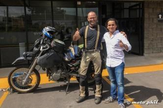 moto.phil and Rodrigo at Tracsa in Guadalajara