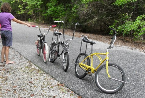 Vintage Kustom Ross, Mint Schwinn BFK, & Custom Mongoose rat bmx