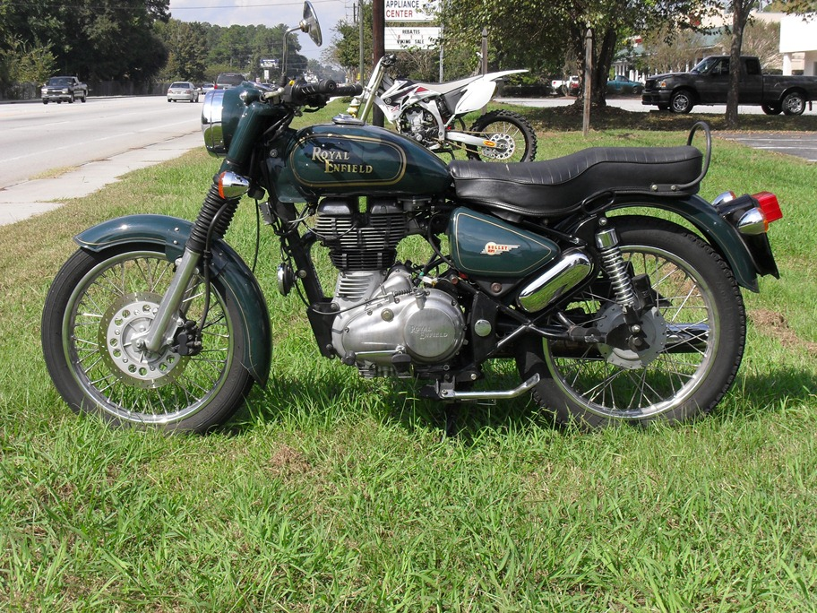 The 2012 Royal Enfield Bullet Classic 500 A Psyco Road