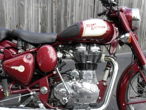 The Royal Enfield 500 engine is the epitome of classic style