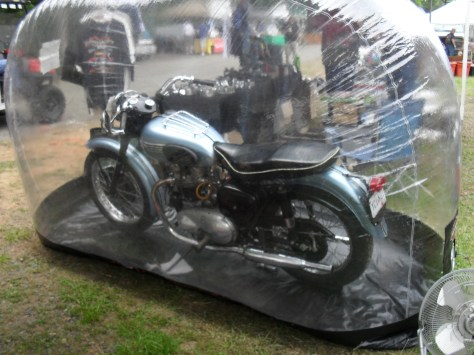 Triumph in a Bubble!
