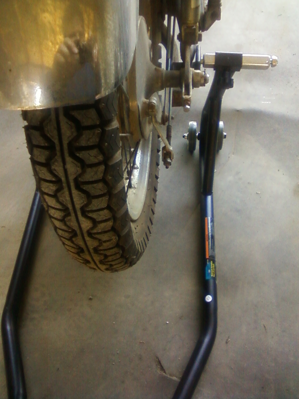 Good Amp Cheap The Harbor Freight Motorcycle Rear Wheel
