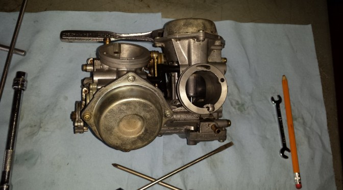 97 Honda Shadow 1100 Carb Cleaning & Jetting ~ Part 2