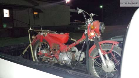 Honda CT90 Junkyard Dog