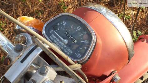 1970 Honda CT90 Speedometer
