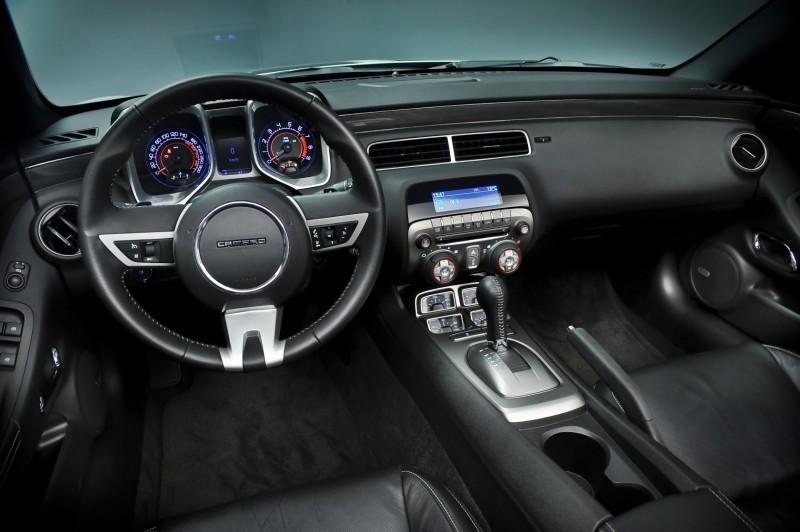 Equipamiento Del Chevrolet Camaro 2012 Para Espaa Motores