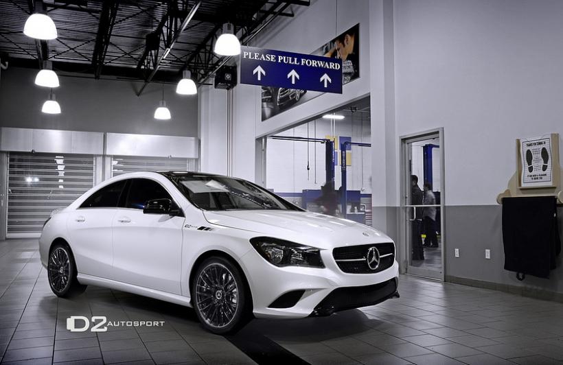 Mercedes Benz CLA D2 Edition En Blanco Y Negro Por
